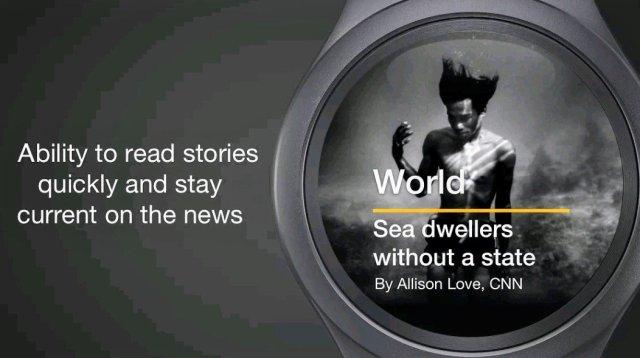 CNN on Samsung Watch