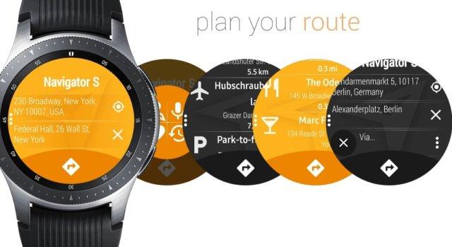 Galaxy Watch Navigation Apps