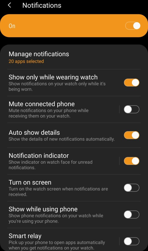 Facebook on Galaxy Watch Active 2
