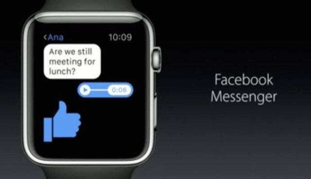 Messenger on Apple Watch