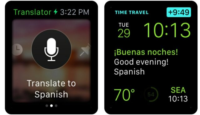 Apple Watch Translator