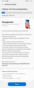 One UI 2.1 Update
