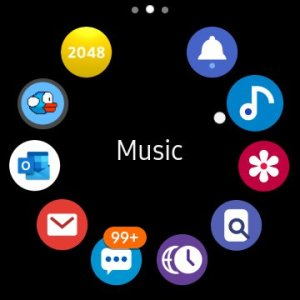 Music Control on Galaxy Watch 3