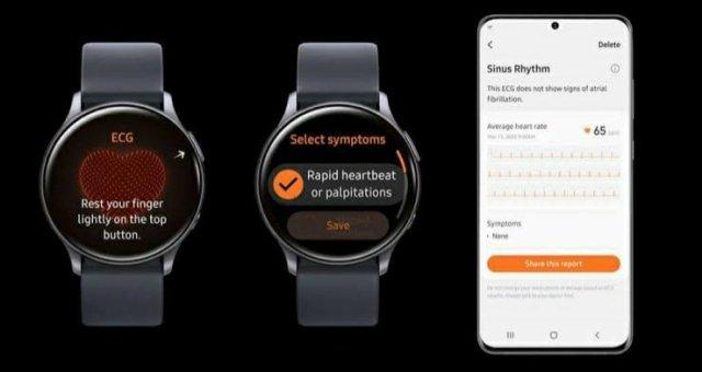 ECG on Galaxy Watch 3