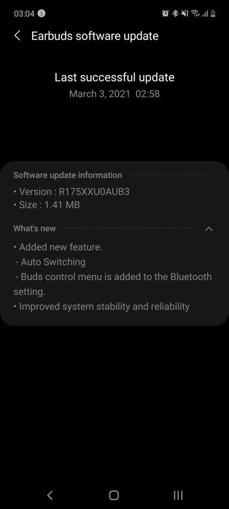 Galaxy Buds+ Update