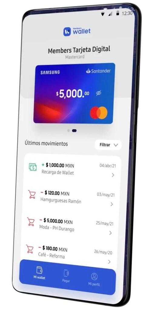 Samsung Members Wallet App