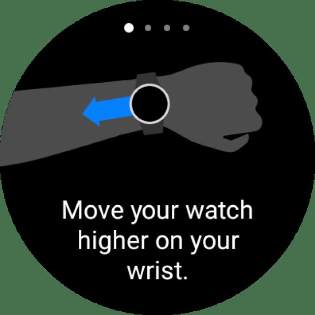 Body composition on Galaxy Watch 4