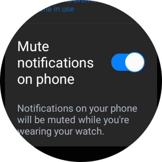 WhatsApp on Galaxy Watch 4 Classic