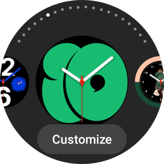Galaxy Watch 4 Watch Faces