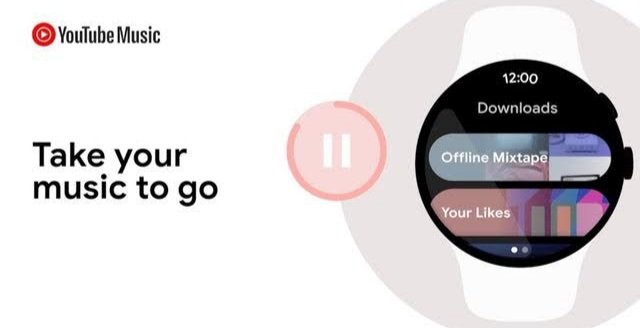 YouTube Music on Wear OS 2