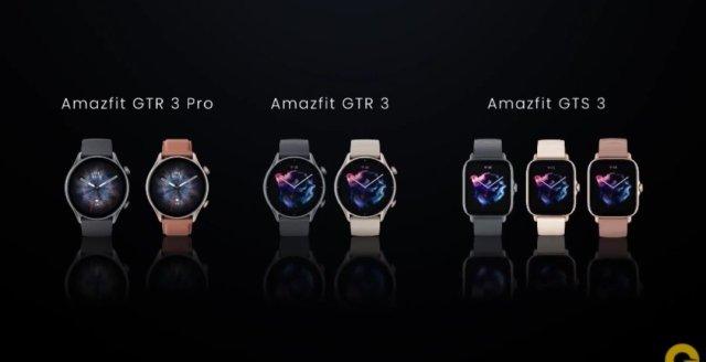 Amazfit GTS 3 Launched