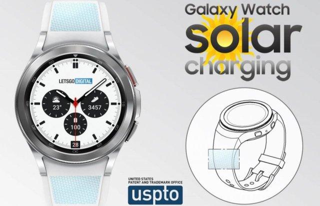 Galaxy Watch 5 Solar Energy Strap