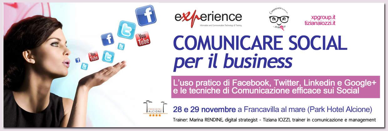 Comunicare Social per il business