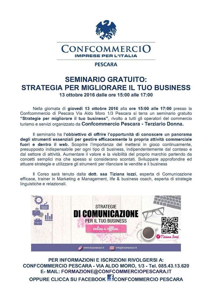 Strategie di successo on line e off line