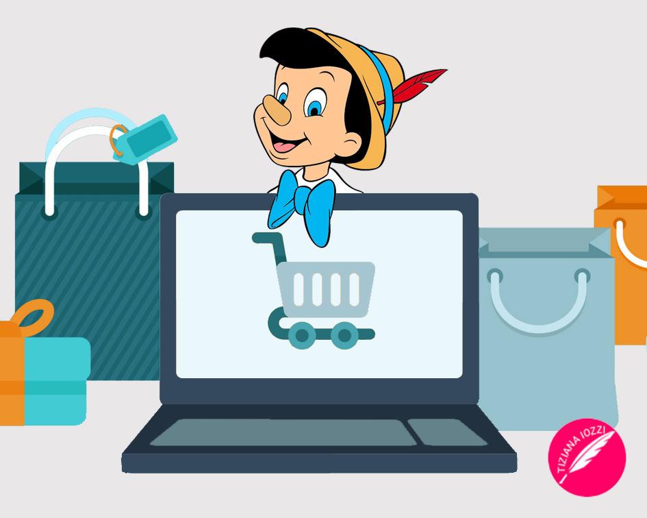 Pinocchio diventa E-Commerce Specialist