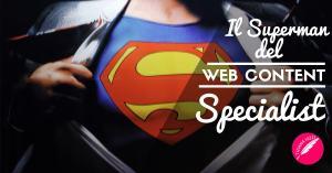 Il Superman del web content specialist fb