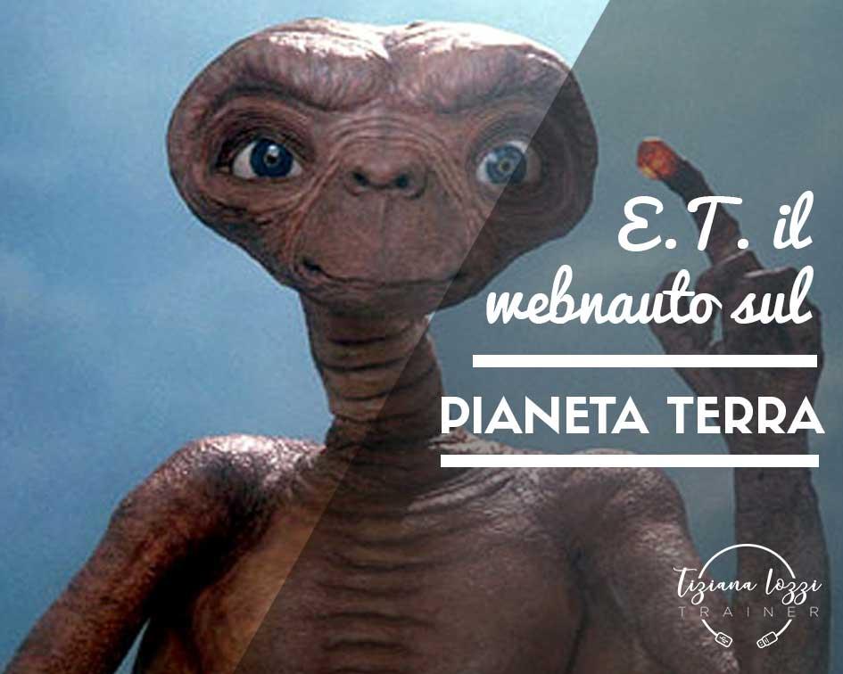 E.T. il Webnauto sul Pianeta Terra