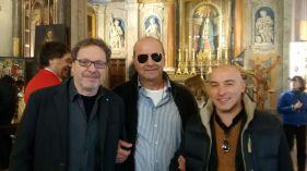 Roberto Tigelli, Italo Duranti and Tiziano Calcari