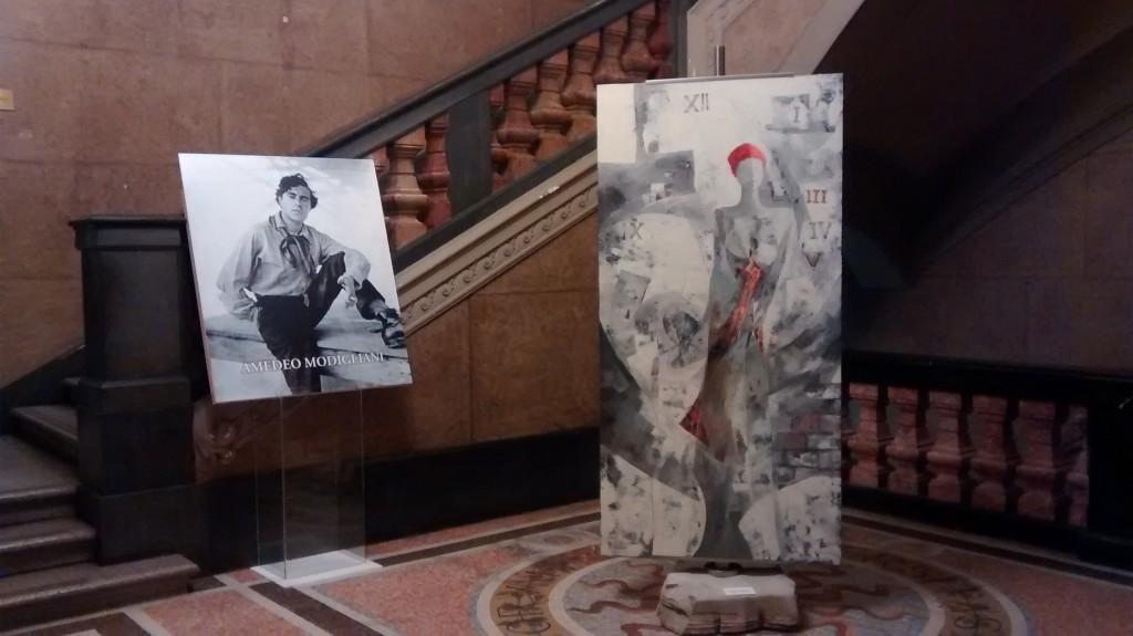 """Amedeo Modigliani, """"Dolci Presenze nel Tempo"""""""