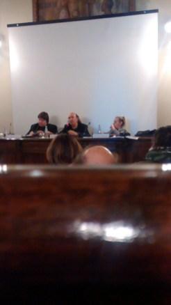 Giammarco Puntelli, Stefano Zecchi, Giulia Sillato