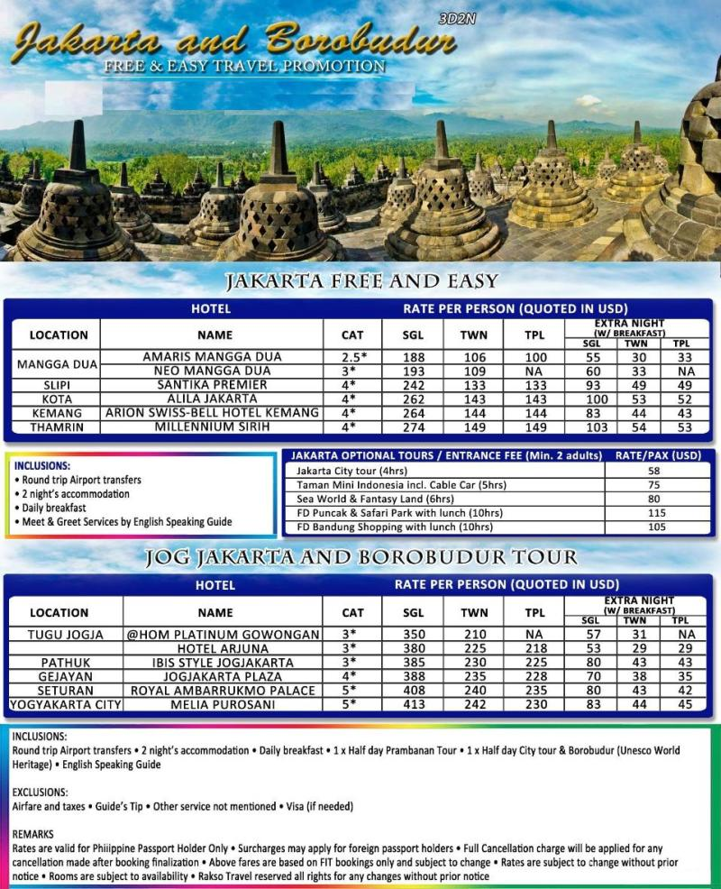 Bali Tour Package From Manila With Airfare