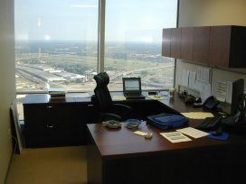 My office on the 49th BofA floor