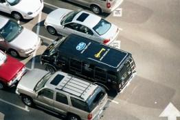 WiFi Wardrive Van Rooftop Logos
