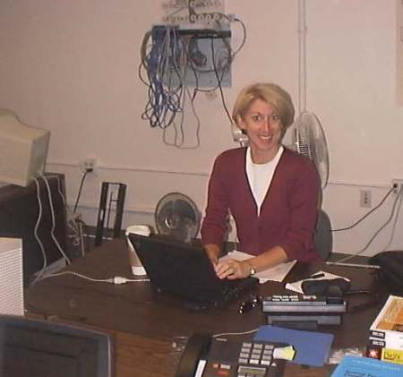 Ruth Hennigar at the 1st SF Office