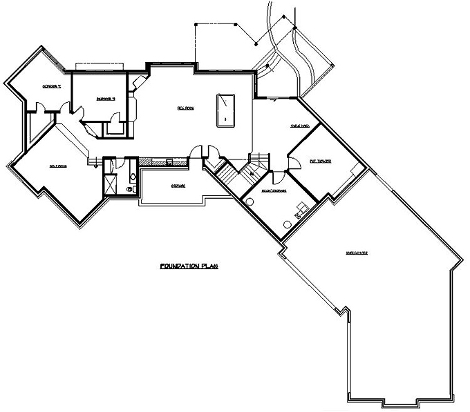 Rambler Floor Plans Plan 205276 TJB Homes