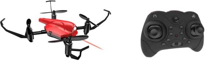 DEERC HS177 red drone