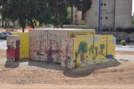 Openbare bunker, Sderot Israel, Tjeerd Langstraat