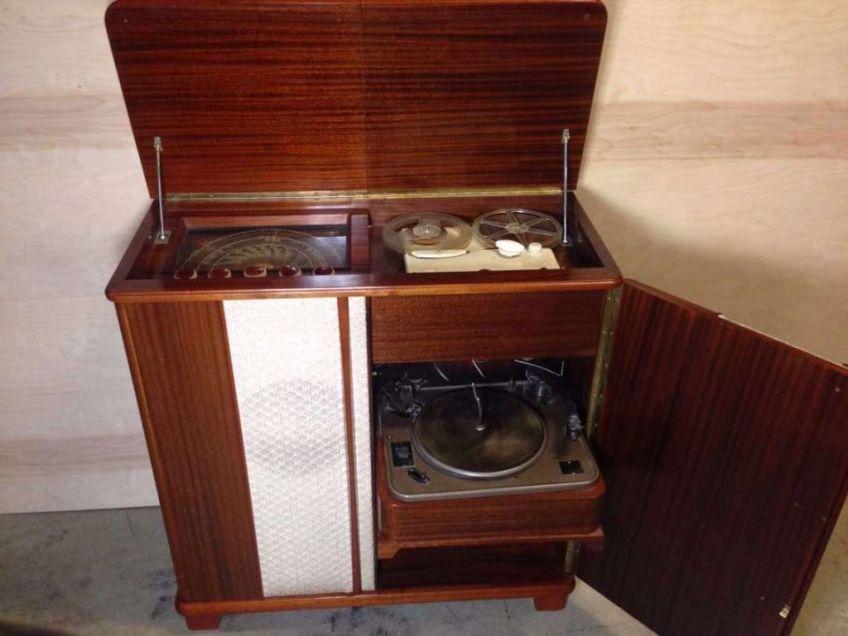 Radionette Chansonnette Retro Kabinett