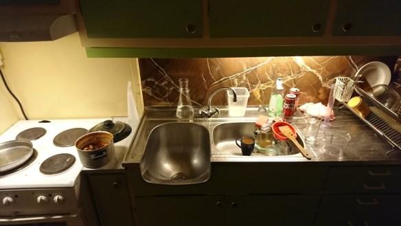 Rot på kjøkkenet