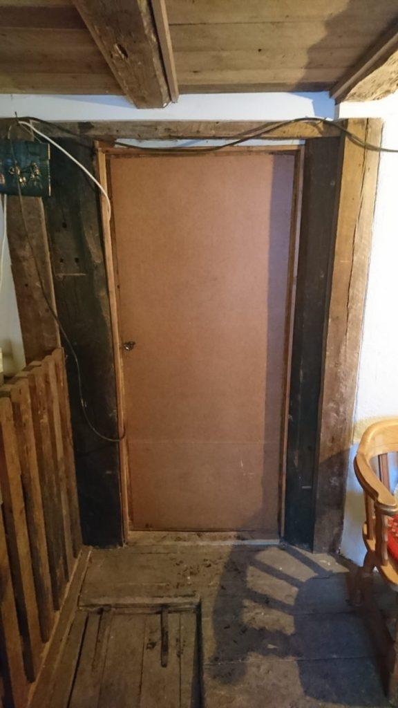 Døren før riving