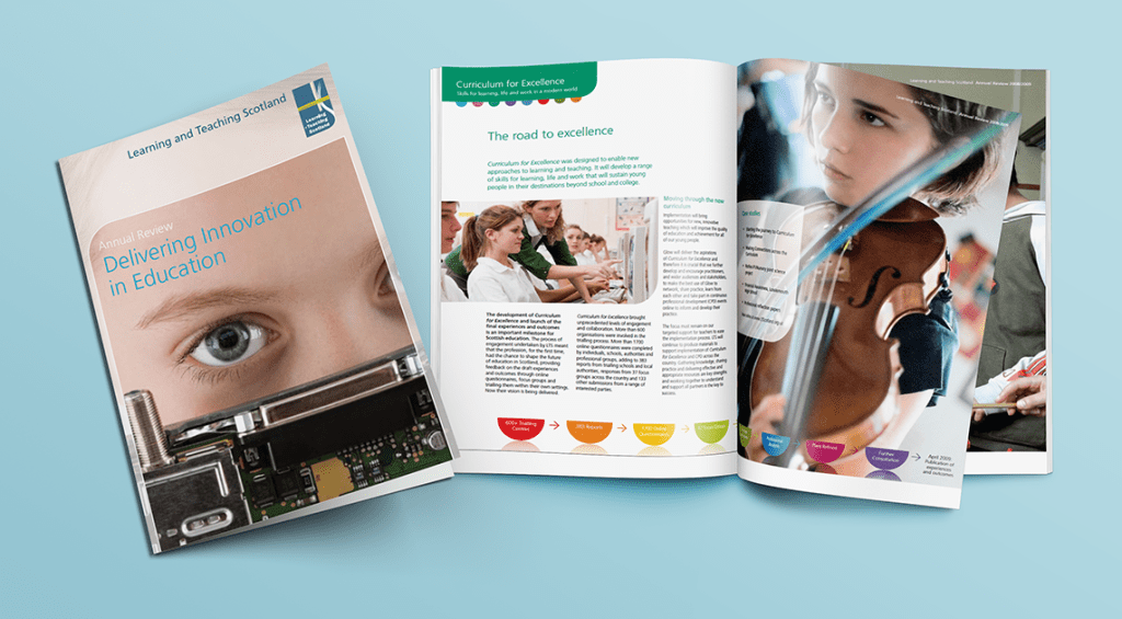 Learning and Teaching Scotland Annual Report