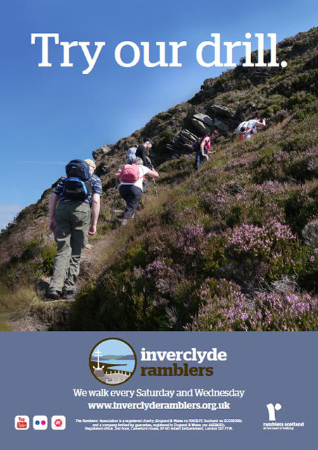 Inverclyde Ramblers dentists poster