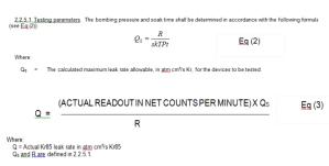 leak-rate-formula