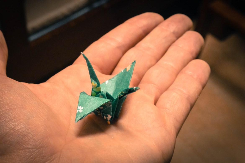 origami hiroshima japan