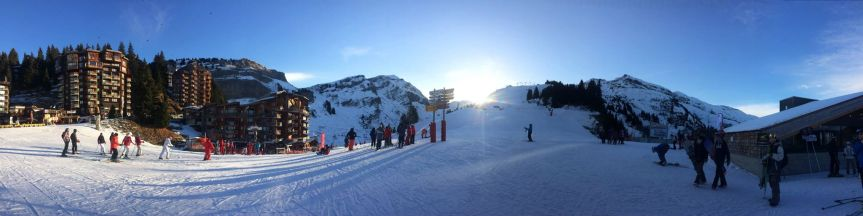 les gets en morzine skireis