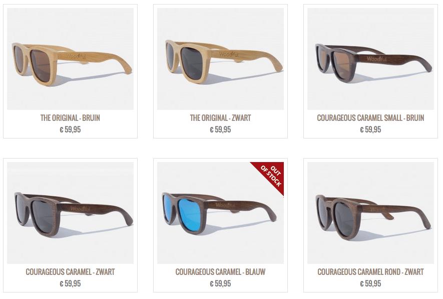houten zonnebril woodiful