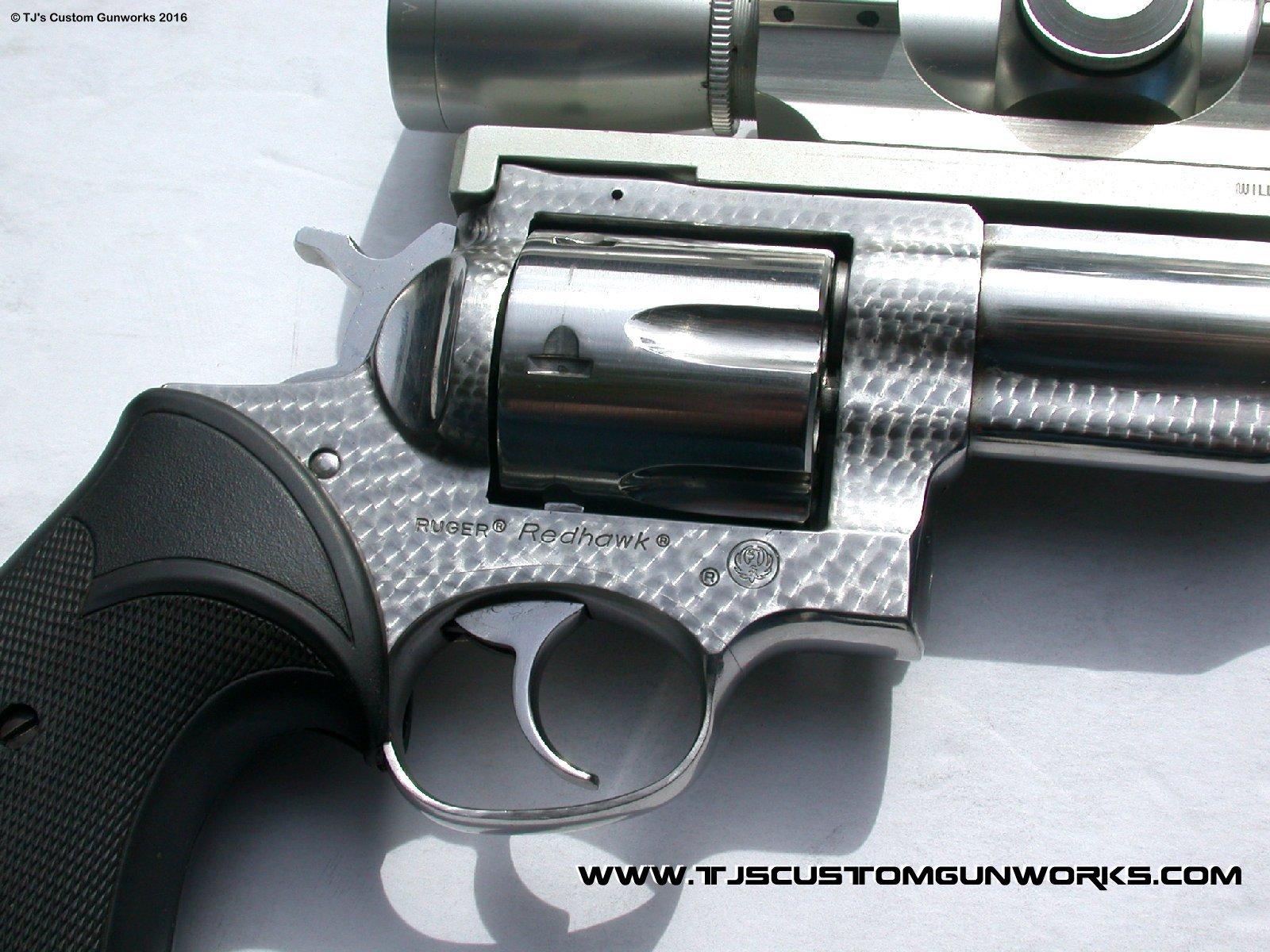 Extreme Custom Jewelled Ruger Redhawk 44 Magnum