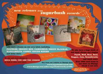 Ad for Sugarbush Records