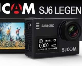 SJCAM SJ 6 LEGEND 4K Aksiyon Kamera