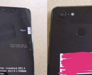 Google Pixel 3 XL fotoğrafları sızdı