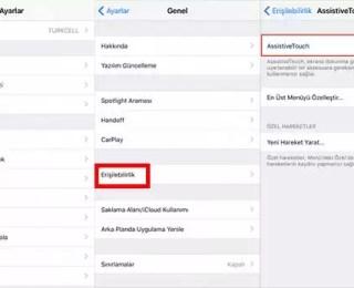 iPhone Sanal Tuş Nasıl Aktif Edilir?