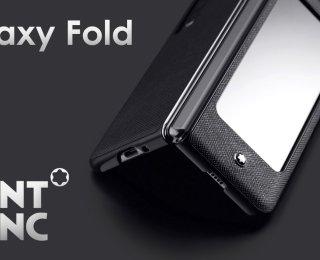 Galaxy Fold 5G MontBlanc ile tanışın