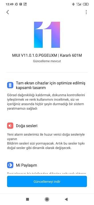 Redmi Note 8 Pro MIUI 11 güncellemesine kavuştu 4