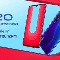 150 dolarlık Vivo U20 satışa başlıyor! Türkiye'ye getirin