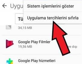 Google Play Hizmetleri durduruldu hatası çözümü 16