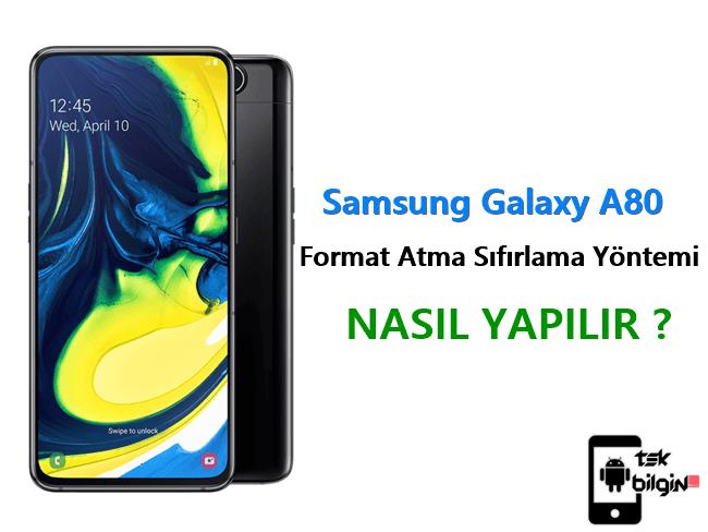 Samsung Galaxy A80 Format Atma Sıfırlama Yöntemi 18